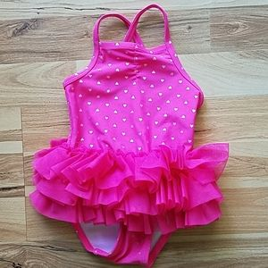 💙3/$15 Baby Girl Pink Swimsuit